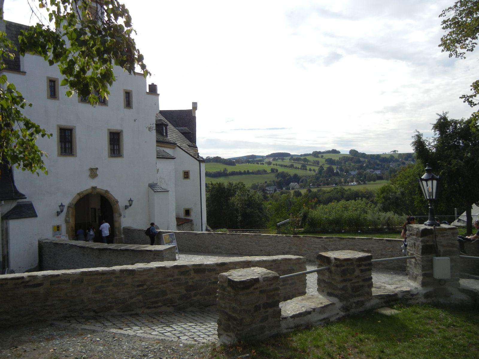 Schloss mit Ausblick
