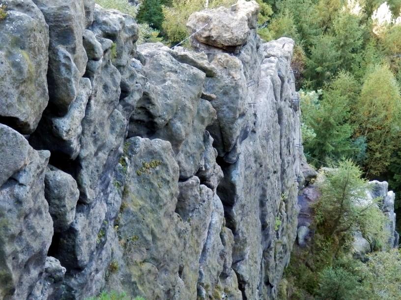 Klettersteig Jonsdorf : Zittauer gebirge urlaub um jonsdorf bergsportgeschäft mountain