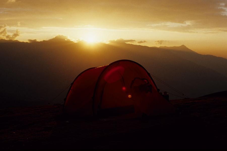 Campamento Huiscash (Cordillera Blanca)