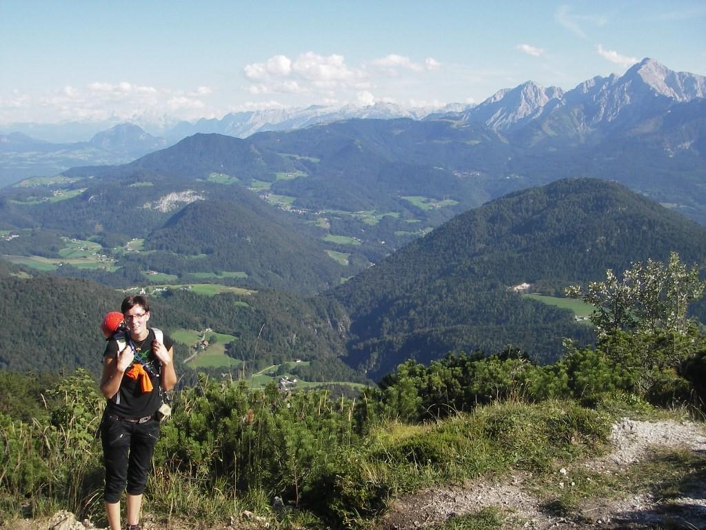 Alpiner Klettersteig auf den Berchtesgardener Hochthron 1973 m