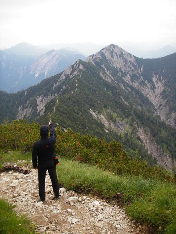 Wettersteingebirge und Walchensee