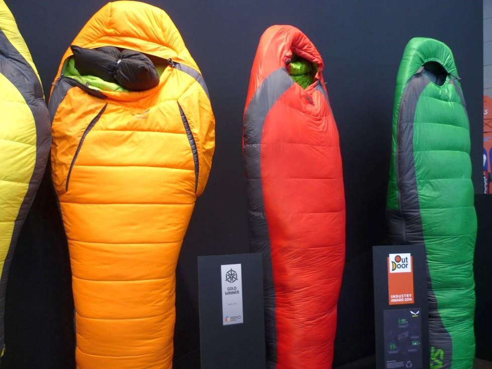 Salewa Schlafsäcke sind gut und gewinnen Preise