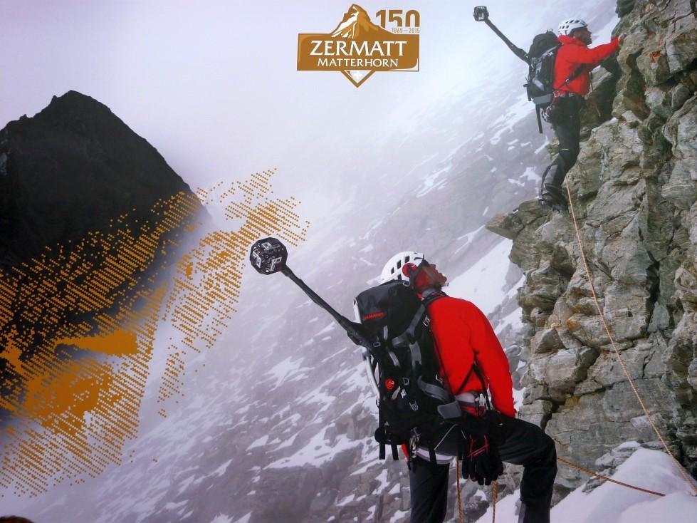 Mammut Projekt 150 Jahre Erstbesteigung des Matterhorns