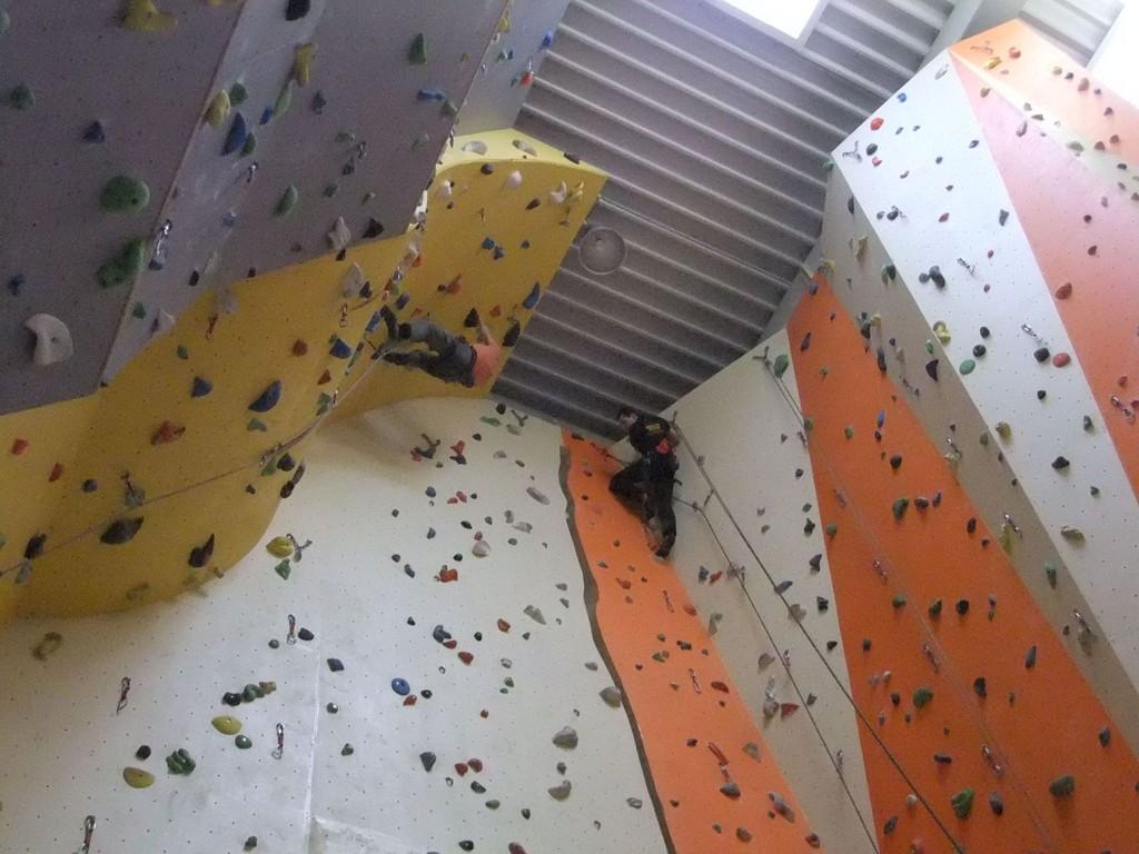 """Chemnitzer Kletterhalle """"Onside"""" - immer wieder schön, 25.02.2012"""