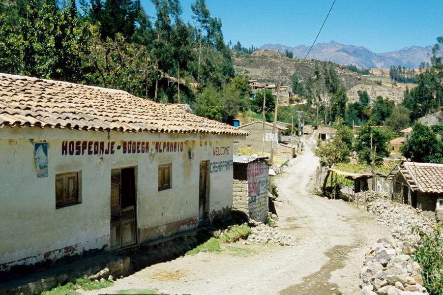 Cashapampa, der Ausgangsort des Trekkings