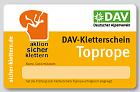 DAV Kletterschein
