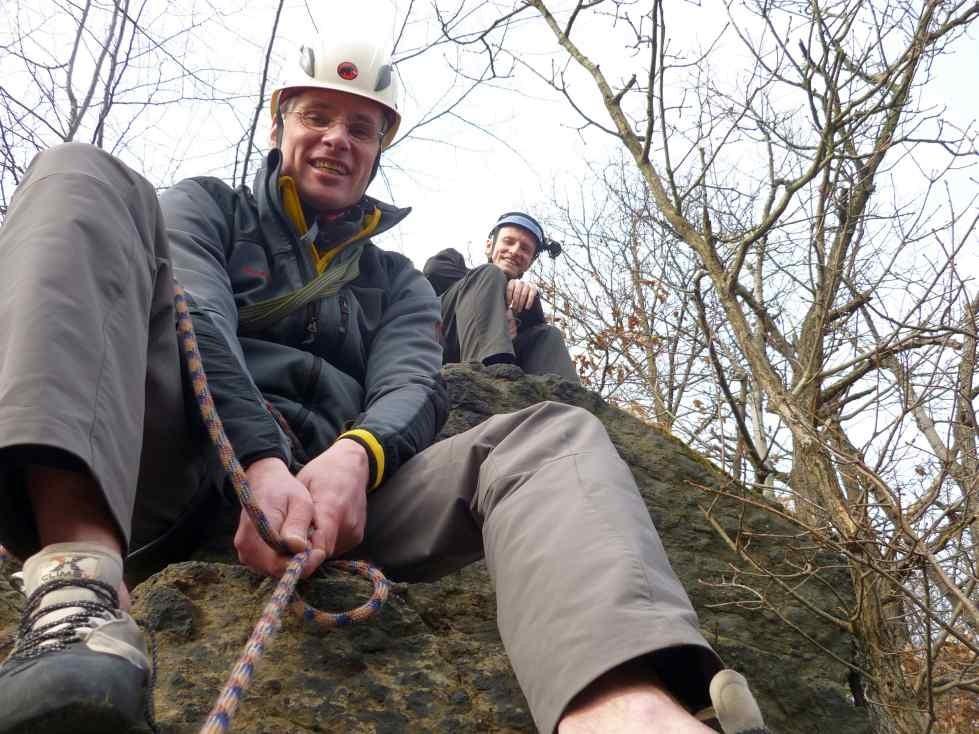Klettern im Steinicht