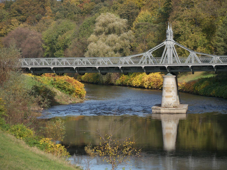 Paradiesbrücke in Zwickau