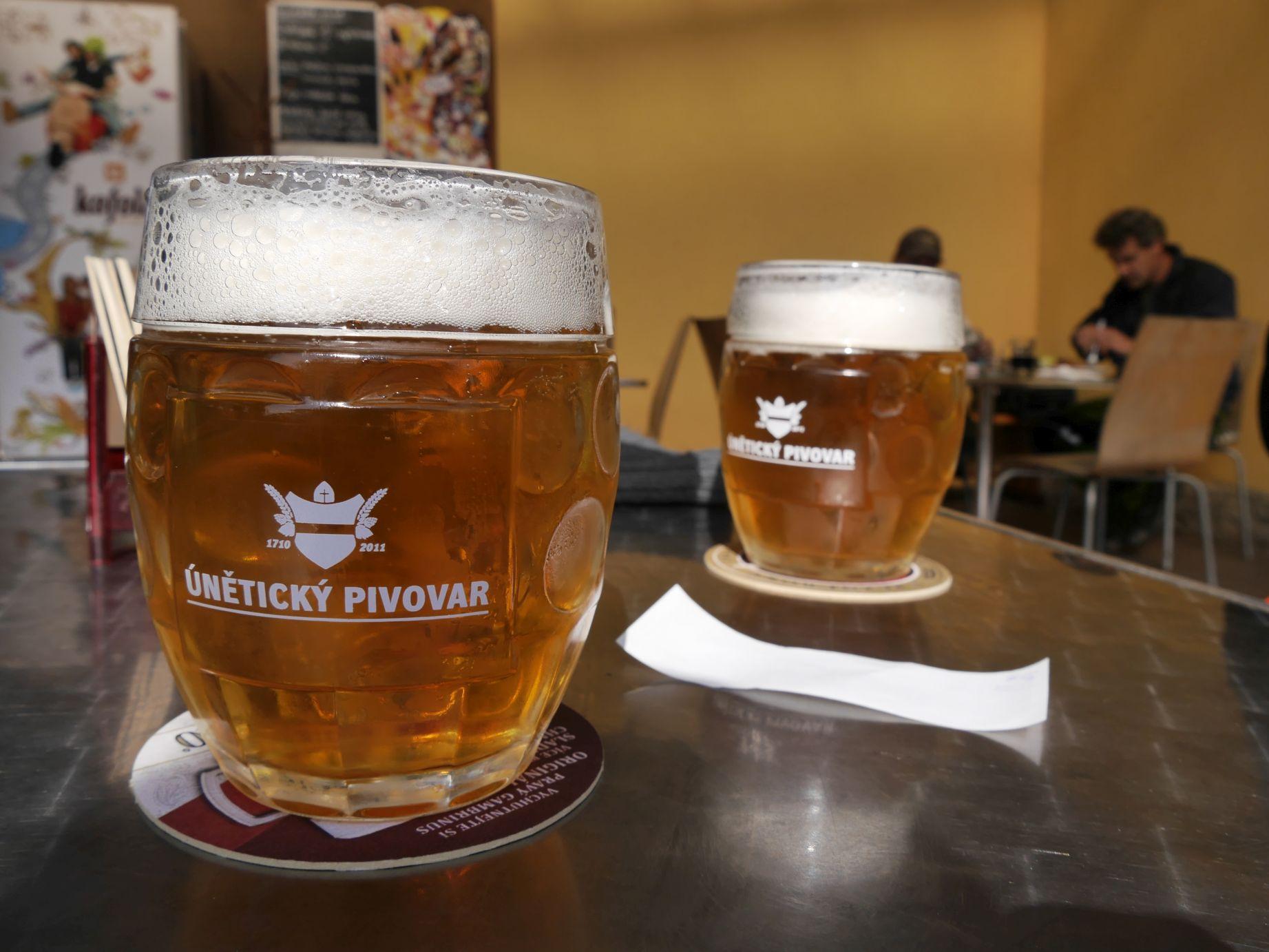 Bei Auswahl böhmischen Bieres spielt  ...