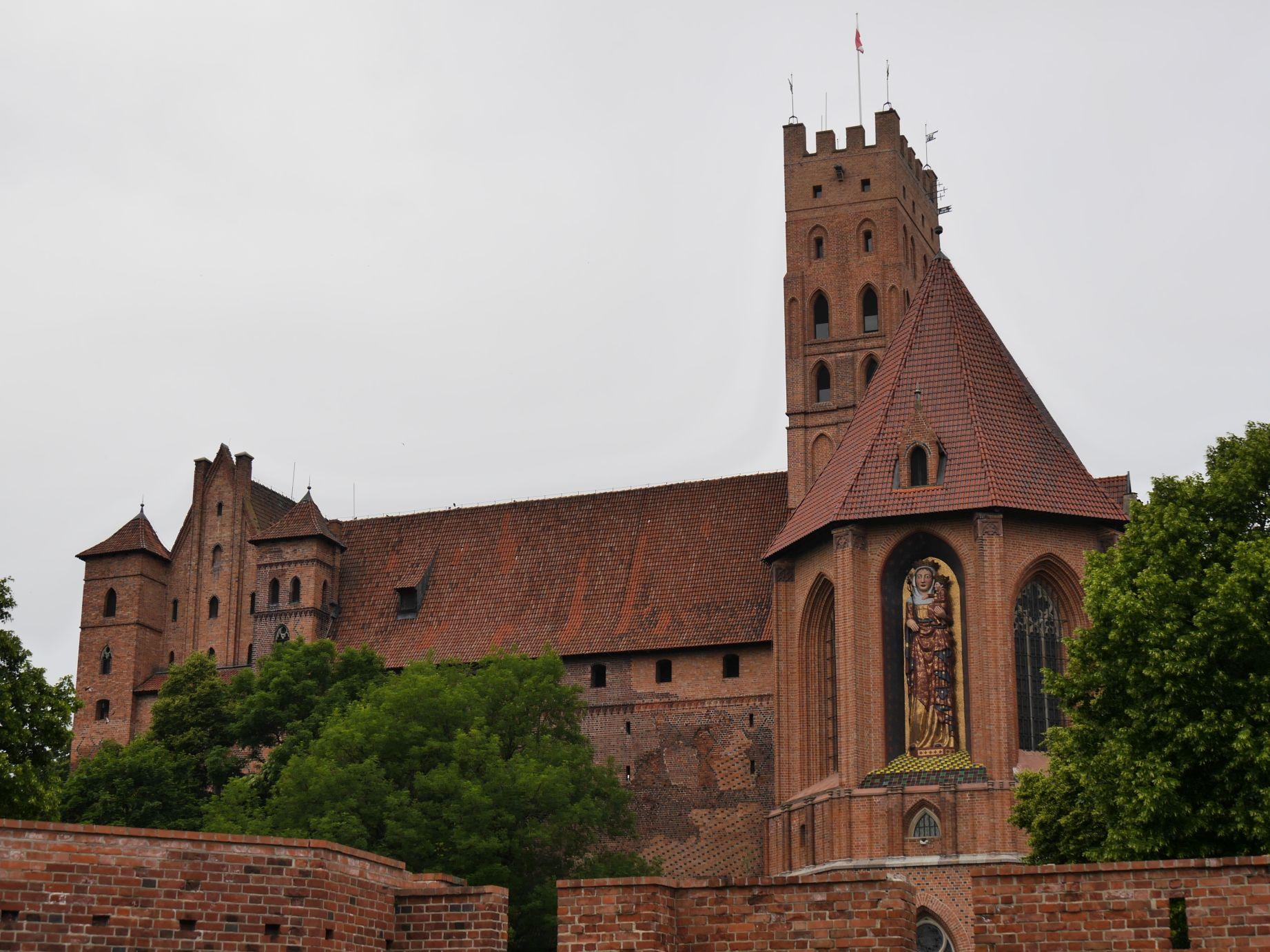 Die Ordensburg Marienburg (Malborg)
