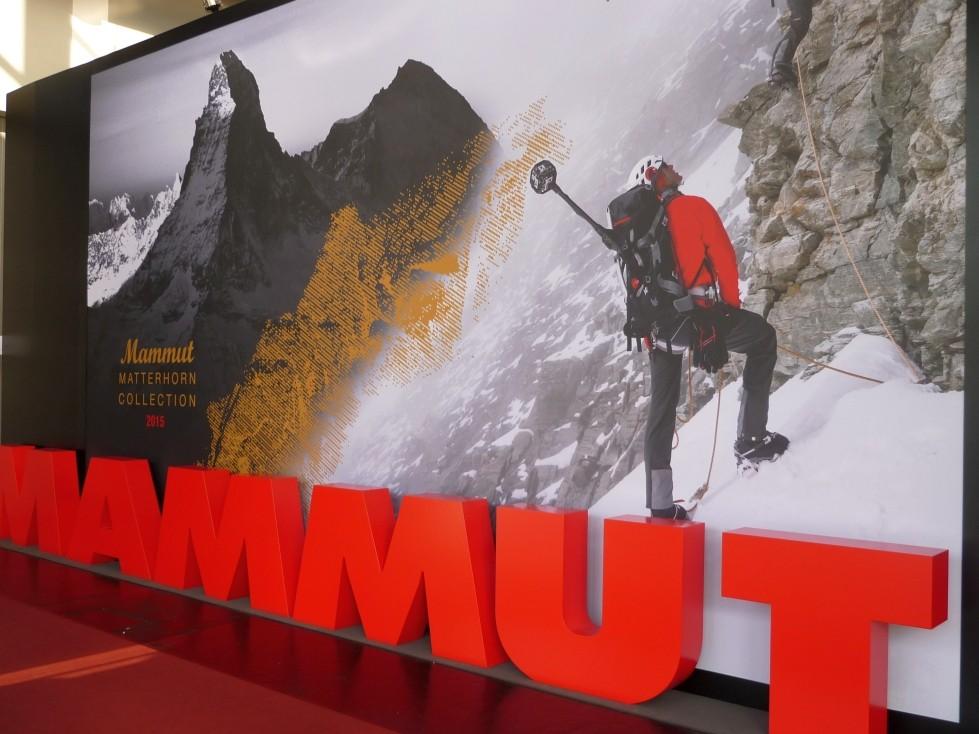 Mammut Messe Stand