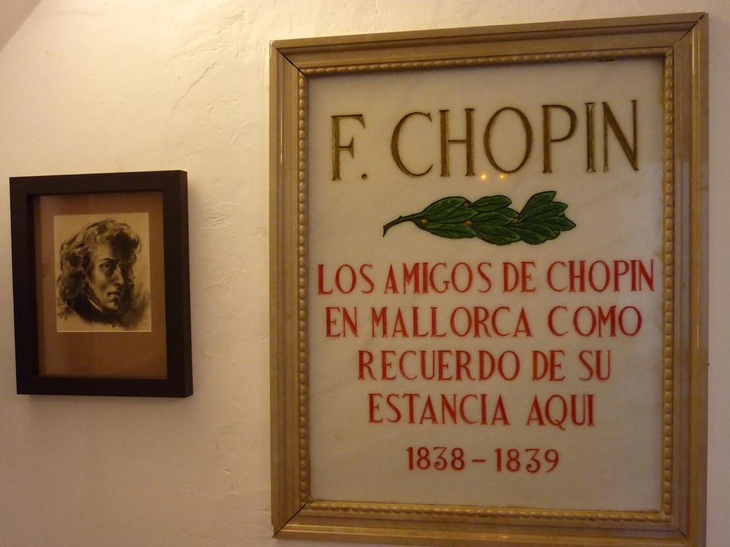 ein Ausflug nach Valldemossa mit Besichtigung der Kartause, in welcher Chopin und Georg Sant einen Winter verbrachten