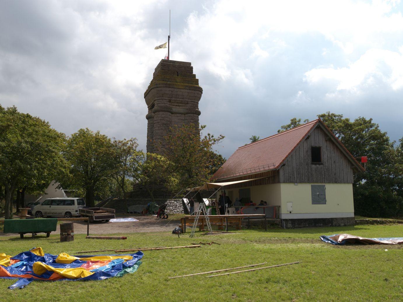 Bismarckturm auf dem Reuster Berg