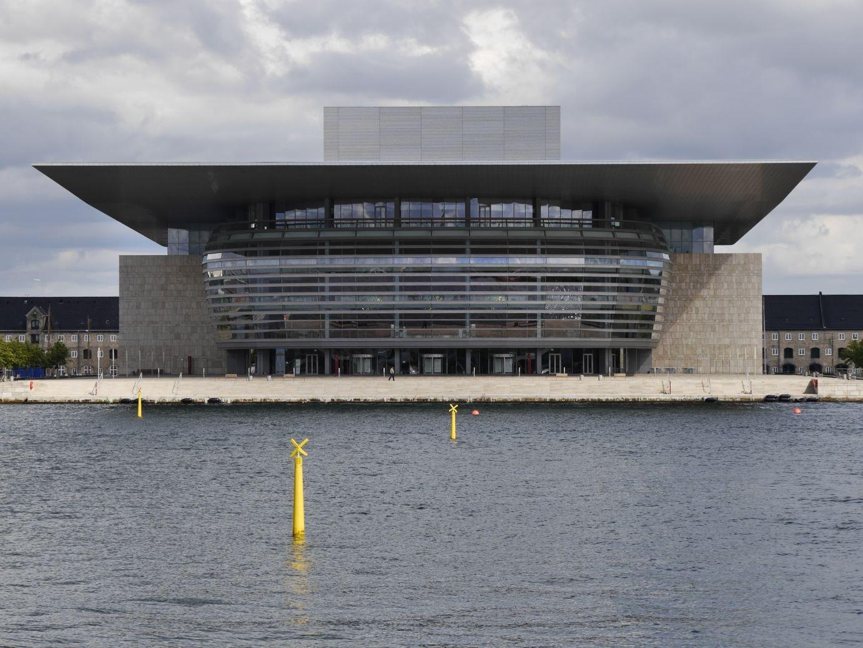 die futuristische Oper von Kopenhagen - fantastische Architektur!