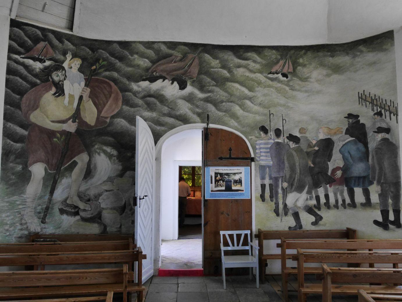 Gemälde in der Kirche von Vitte