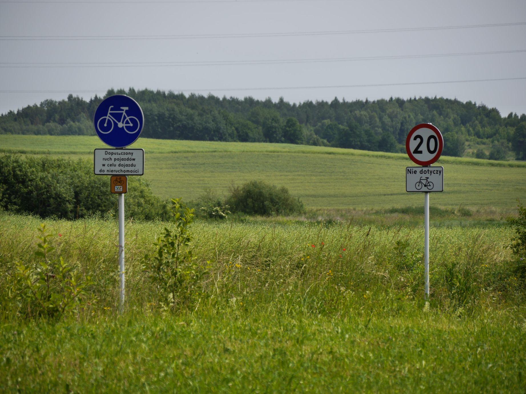 Der Schilderwald nimmt auch in Polen zu!