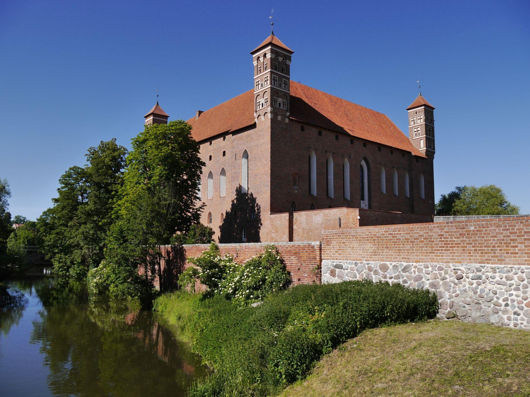 Ordensburg in Heilsberg (Lidzbark Warmiński)