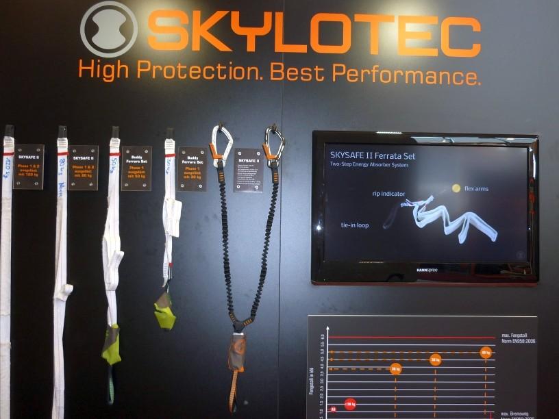 Bandfalldämpfer Technik von Skylotec
