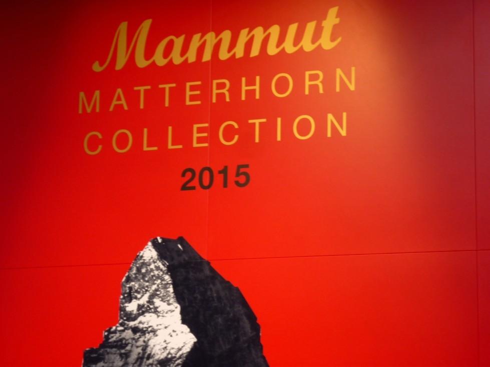 Mammut Matterhorn Kollektion für 2015