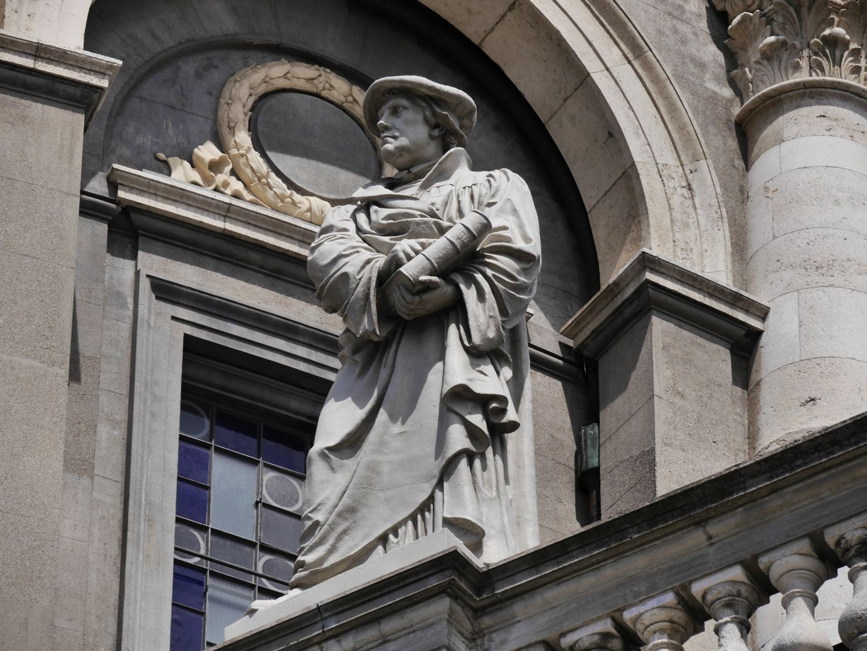 Martin Luther grüßt