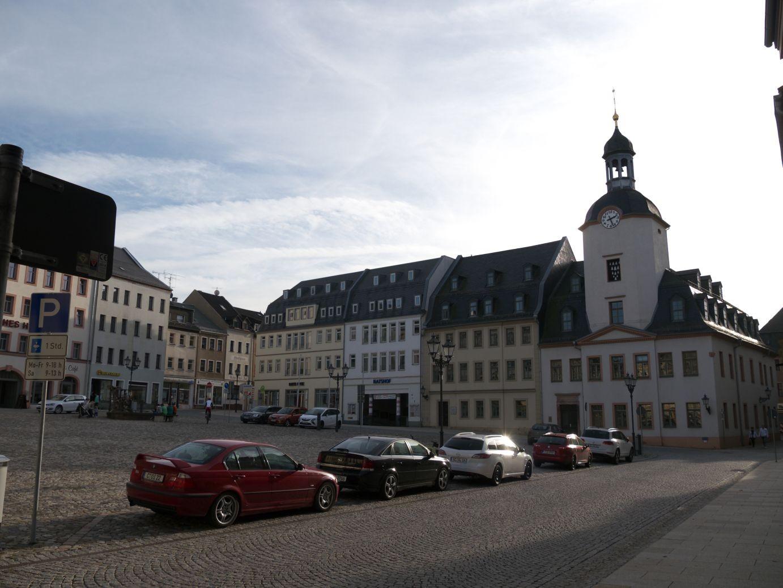 Marktplatz in Glauchau