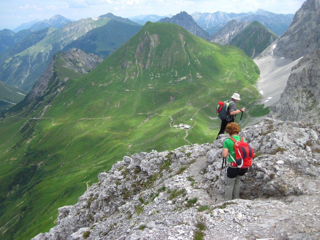 Tour zum Falschen Kogel 2388 m in den Lechtaler Alpen