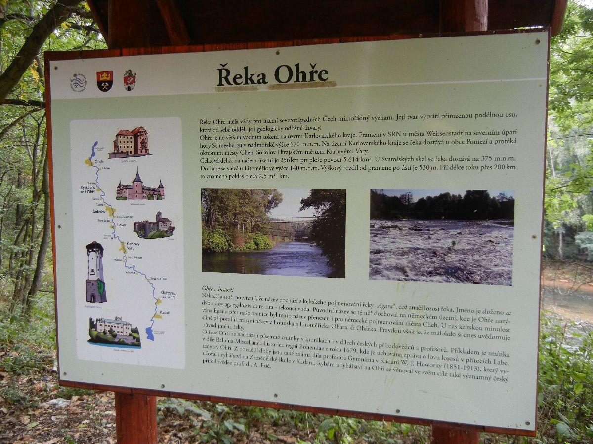 Genussradeln entlang der Eger - auf dem Egerradweg Nr.6