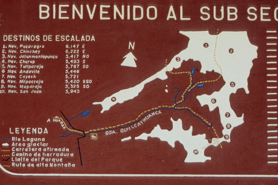 An der Portada der Quebrada Quilcayhuanca (Cordillera Blanca)