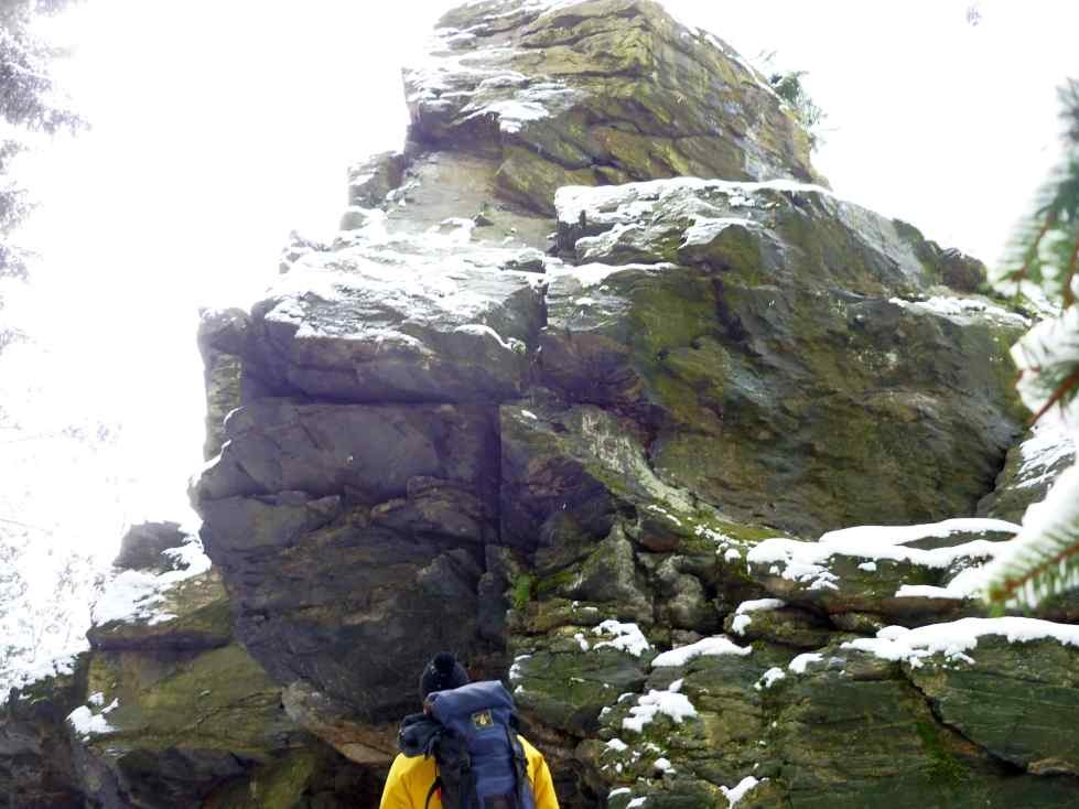 Silvester auf dem Falkensteiner Felsenrundweg