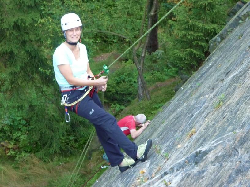 Mittwochstraining am Wendelstein mit einem Gast aus Chile, 08.08.2012