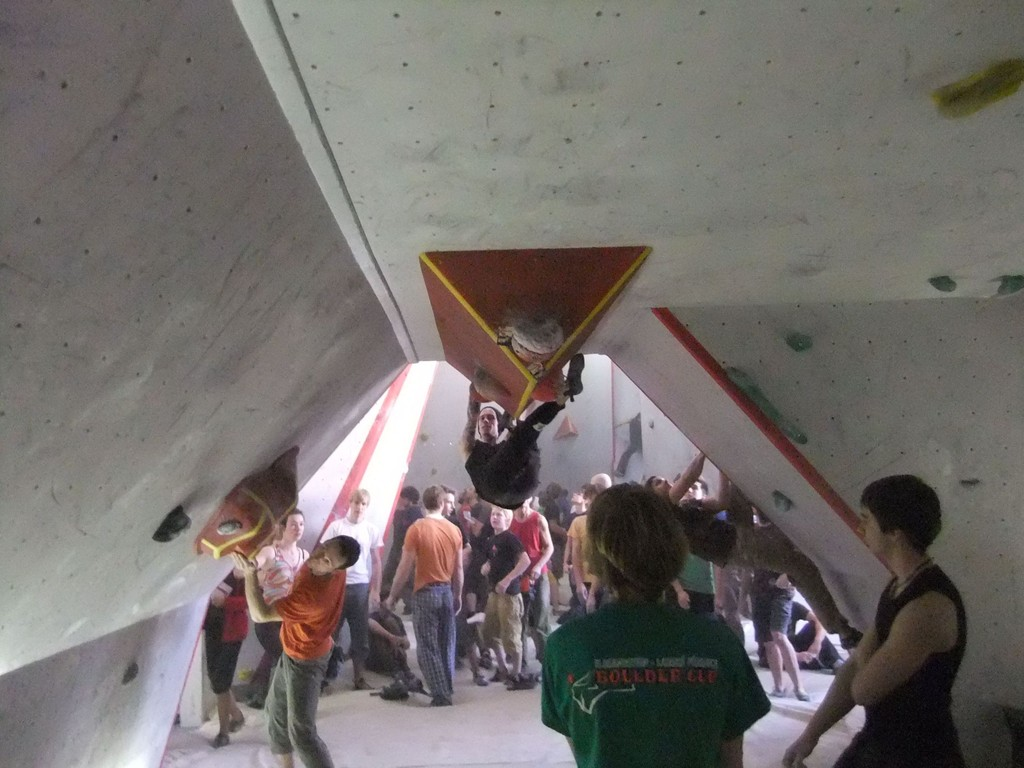 Bouldercup in der Chemnitzer Boulderlounge, 14.01.2012