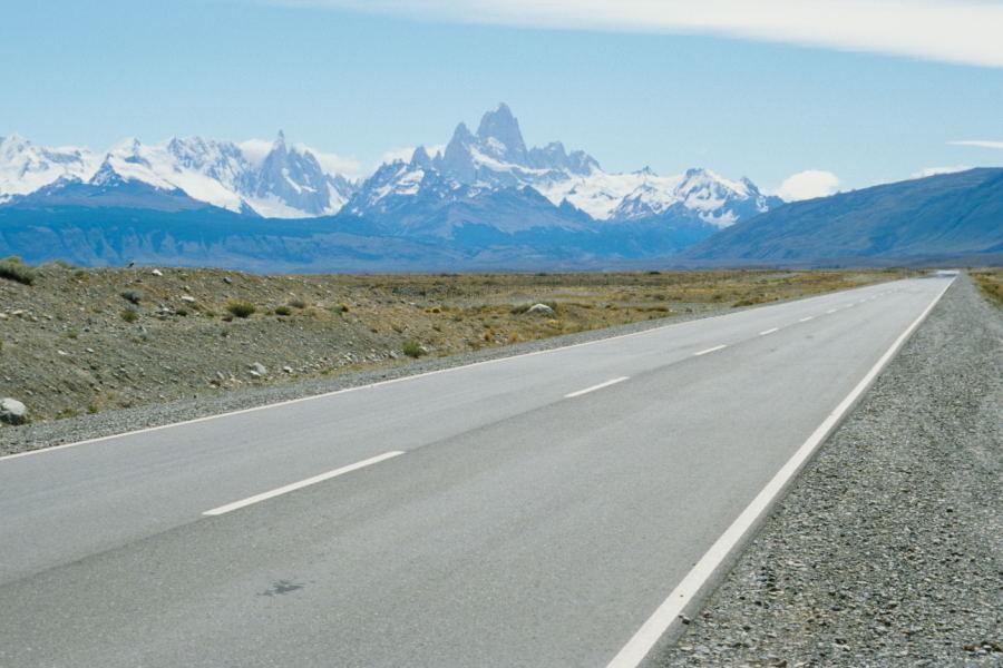 Straße nach El Chaltén