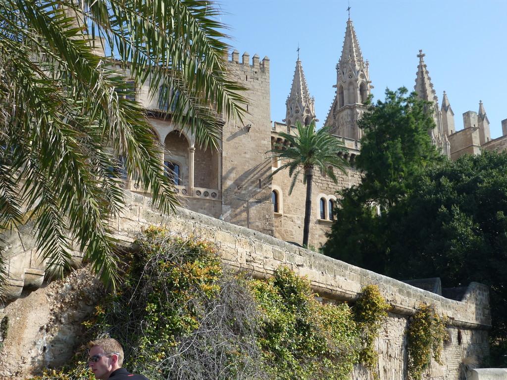 wir unternehmen einen Stadtbummel durch die Altstadt von Palma mit Besichtigung der berühmten Kathedrale