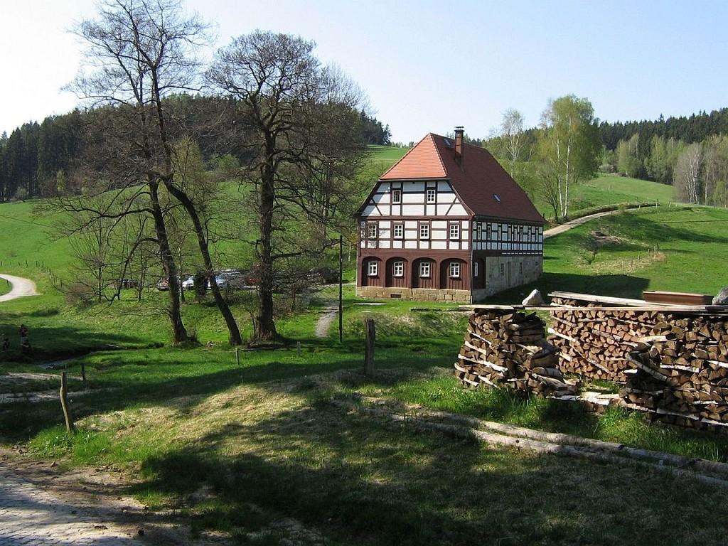 die Saupsdorfer Hütte