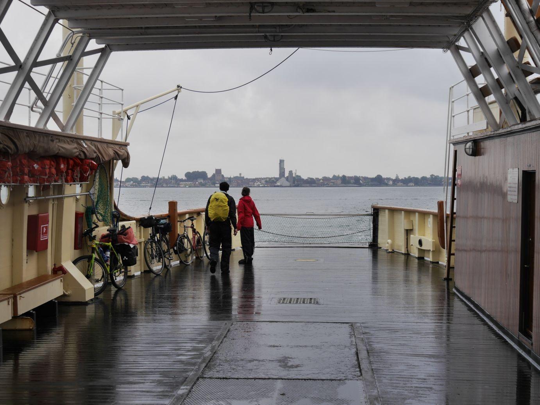 Fähre zur Insel Bogø