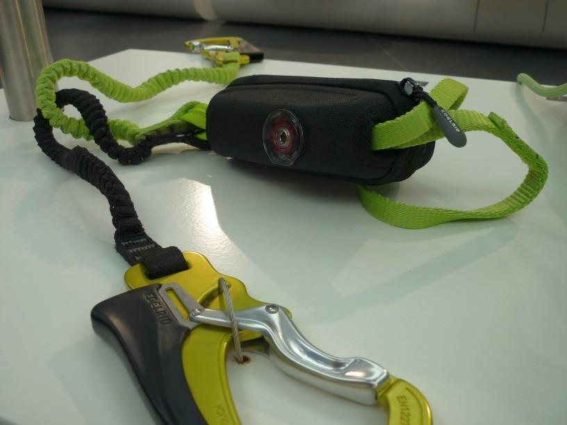 Edelrid Cable Vario - erstes Klettersteigset, bei dem sich der Bremswiderstand auf das Gewicht des Benutzers einstellen lässt.