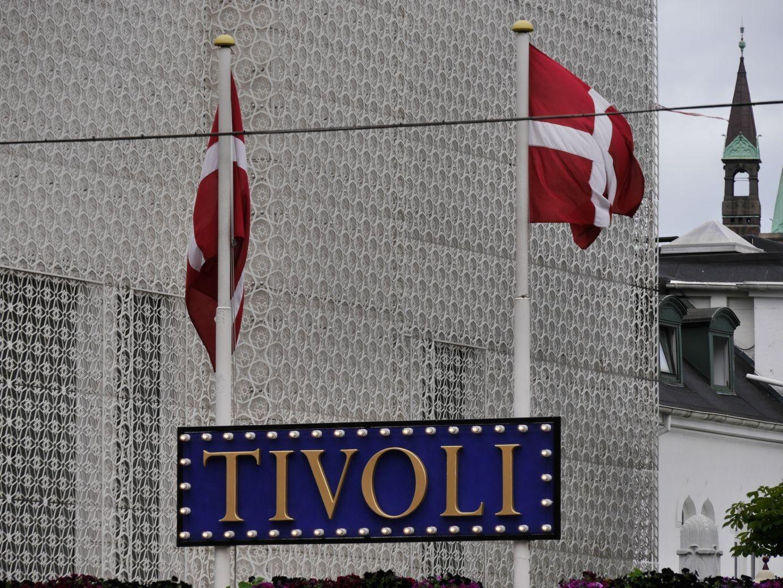 der berühmte Vergnügungspark Tivoli im Zentrum der Stadt