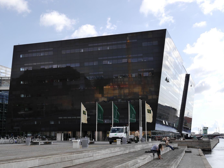 """der """"Schwarze Diamant"""" - die königliche Bibliothek"""