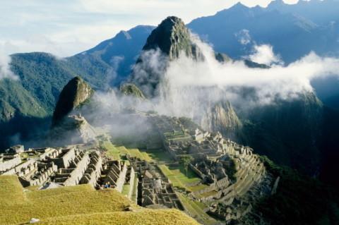 Ruinenanlage Machu Picchu