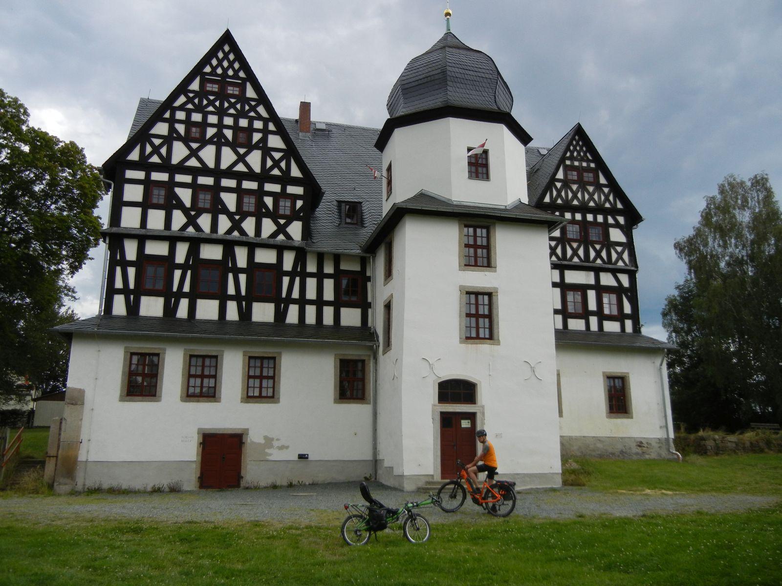 Das Schloss von Treuen