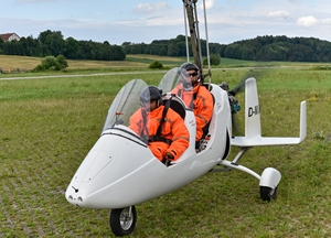 Gyrocopter - ready for take off