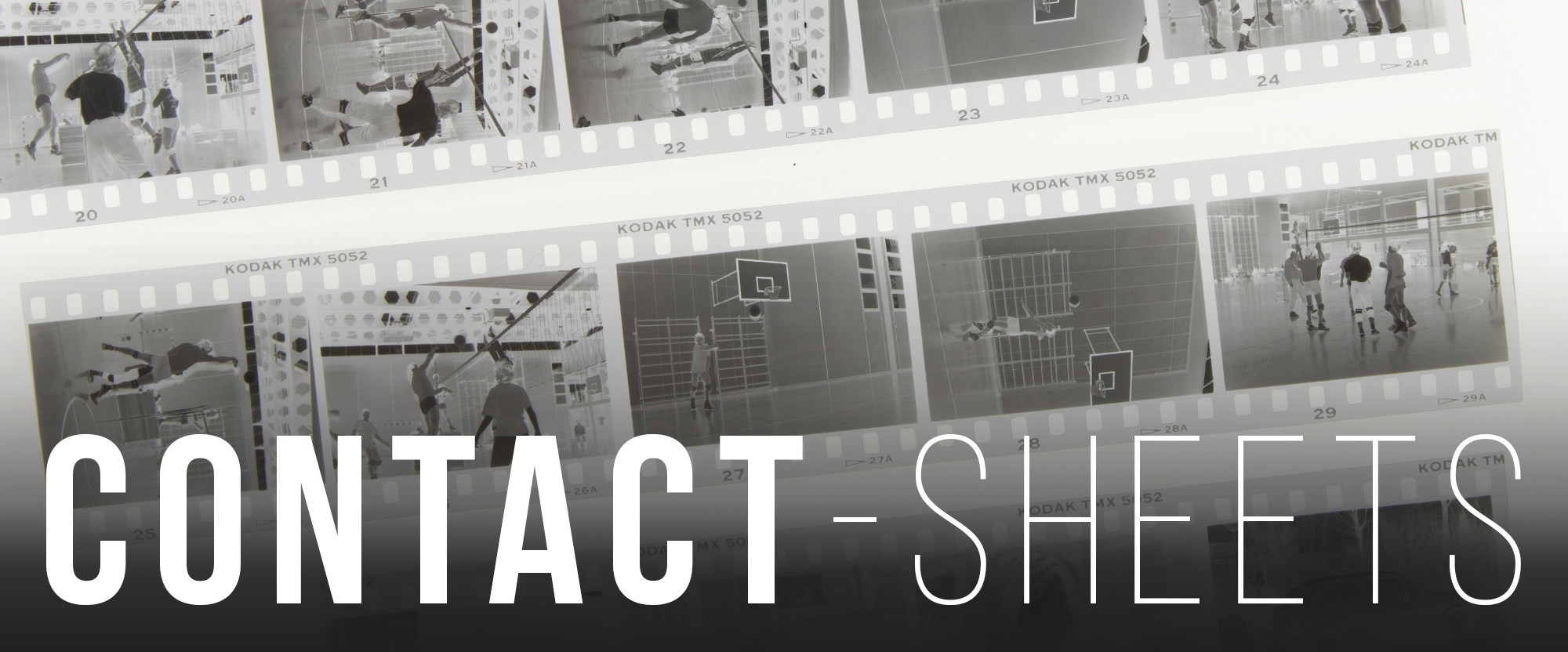 Moderne Analog-Fotografie:  Digitale Contact Sheets