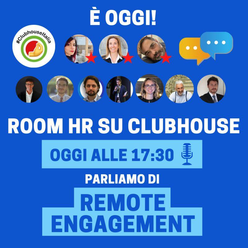 Alle 17:30 Live nella Room HR su Club Italia - Clubhouse con la nostra CEO&Founder ed HR Manager Stefania Cazzarolli