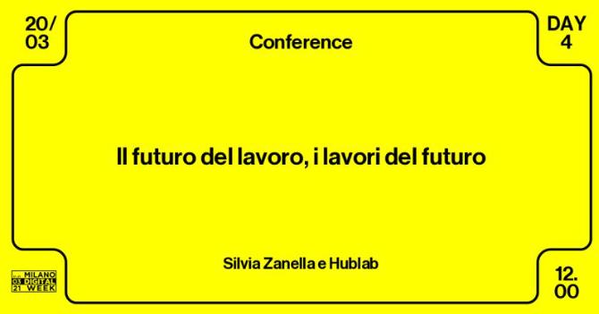Arianna Visentini partecipa all'evento della Milano Digital Week dedicato al futuro del lavoro