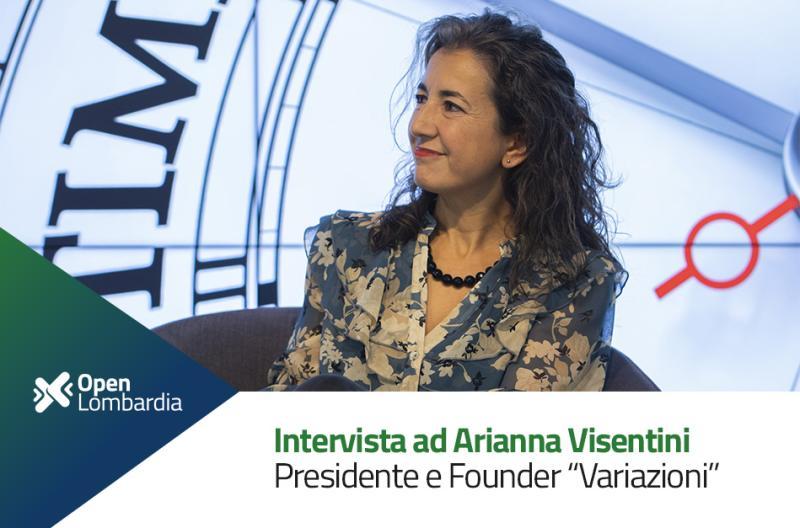 Arianna Visentini intervistata a Open Innovation Lombardia