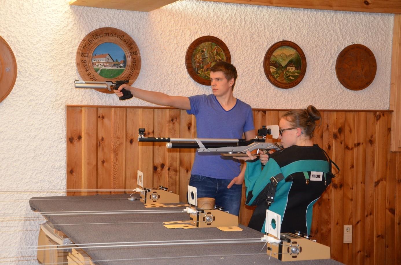 Training Luftpistole