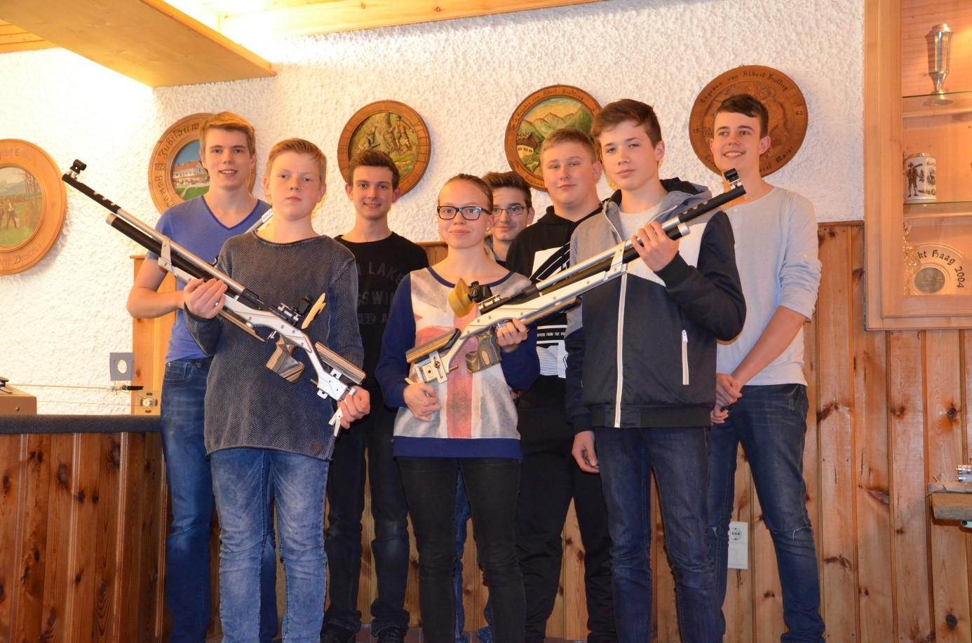 Gruppenfoto Schützenjugend
