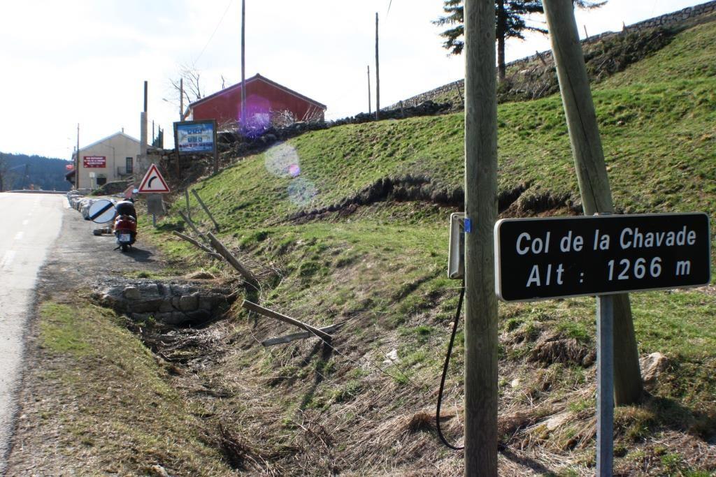 "Reina am Pass ""Col de la Chavade"" auf 1.266 m."