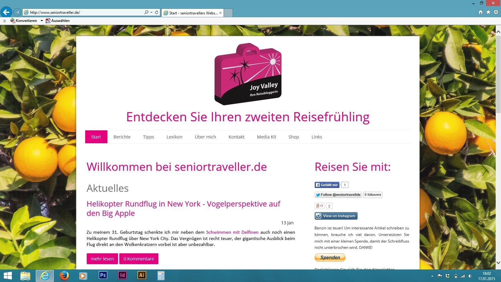 Startseite seniortraveller.de
