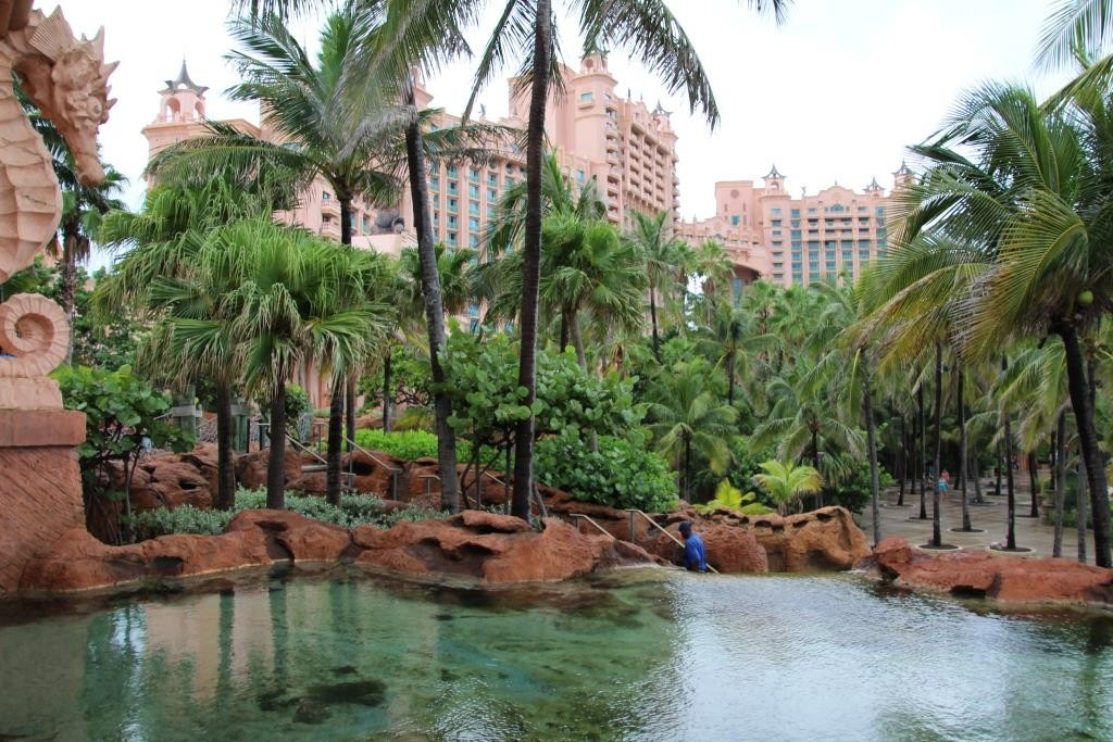 Atlantis Paradise Island Resort auf den Bahamas.